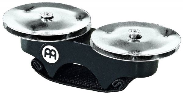 Meinl FJS1S-BK Steel Finger Jingles for Cajon - Black - Best seller
